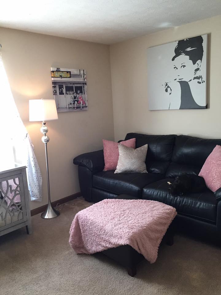 Hollywood Glam Living Room – Organization By Ashley